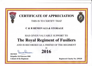 C&R sponsor welfare charity.