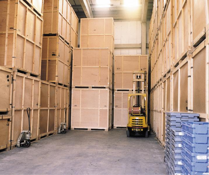 storage of furniture and vehicles